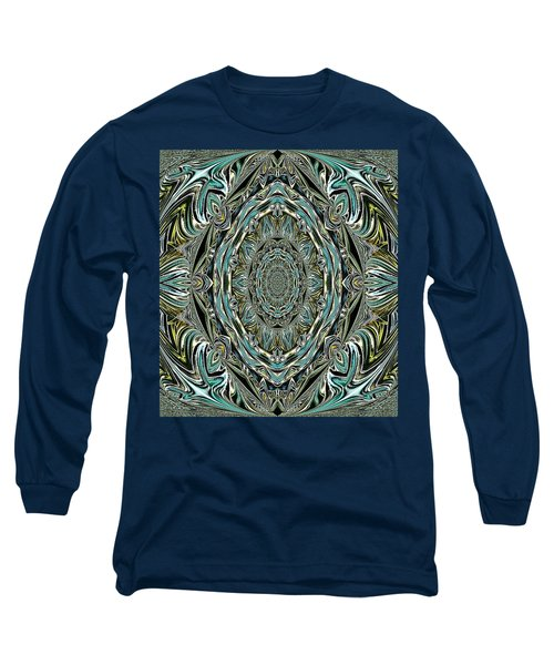 Long Sleeve T-Shirt featuring the photograph Pattern. Art For Home And Office by Oksana Semenchenko