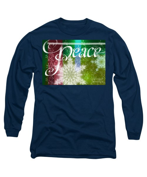 Peace Greeting Long Sleeve T-Shirt