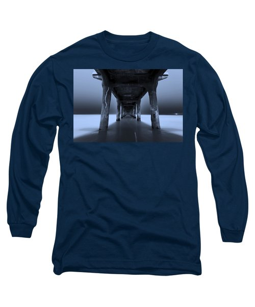 Long Sleeve T-Shirt featuring the photograph Peaceful Pacific by Mihai Andritoiu