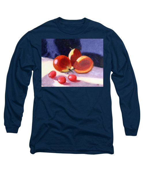 Pears And Grapes Long Sleeve T-Shirt