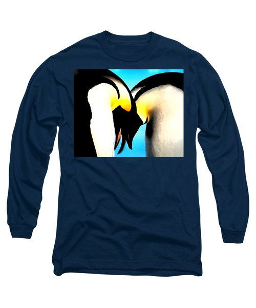 Penquin Love Dance Long Sleeve T-Shirt