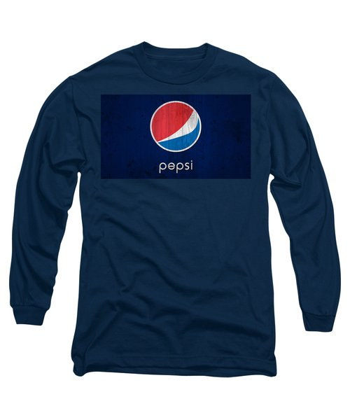Pepsi Barn Sign Long Sleeve T-Shirt