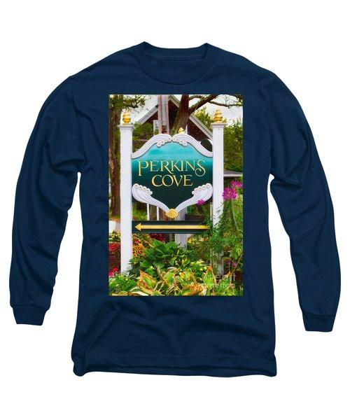 Perkins Cove Sign Long Sleeve T-Shirt