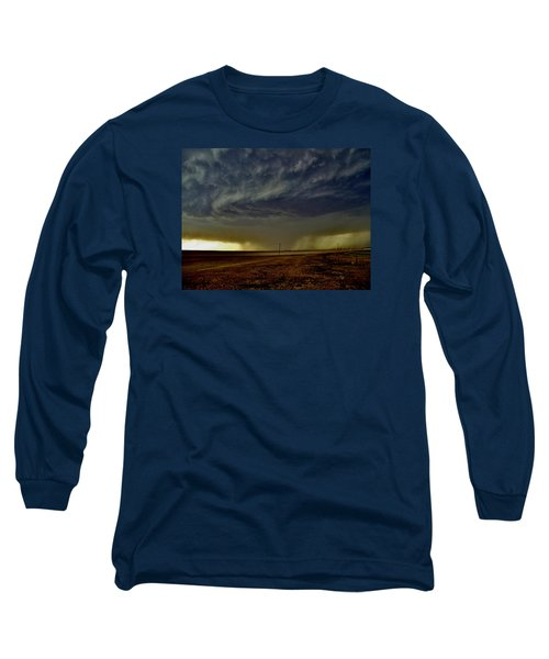 Perryton Supercell Long Sleeve T-Shirt by Ed Sweeney