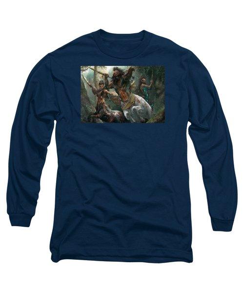 Pheres-band Raiders Long Sleeve T-Shirt by Ryan Barger
