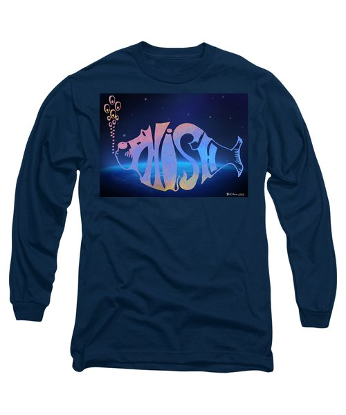 Long Sleeve T-Shirt featuring the photograph Phish by Bill Cannon