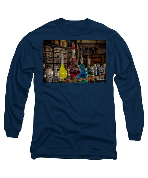 Pick An Elixir Long Sleeve T-Shirt by Adrian Evans