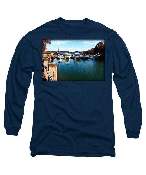 Pier Pressure - Lake Norman Long Sleeve T-Shirt