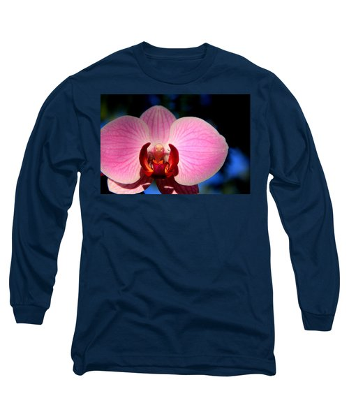 Pink House Long Sleeve T-Shirt by Greg Allore