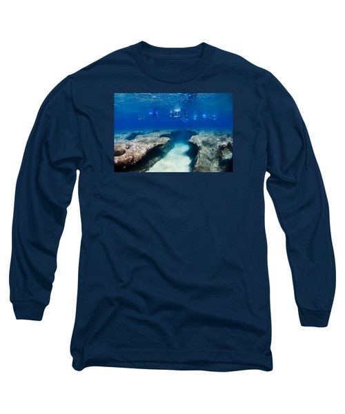Pipeline's Hungry Reef Long Sleeve T-Shirt