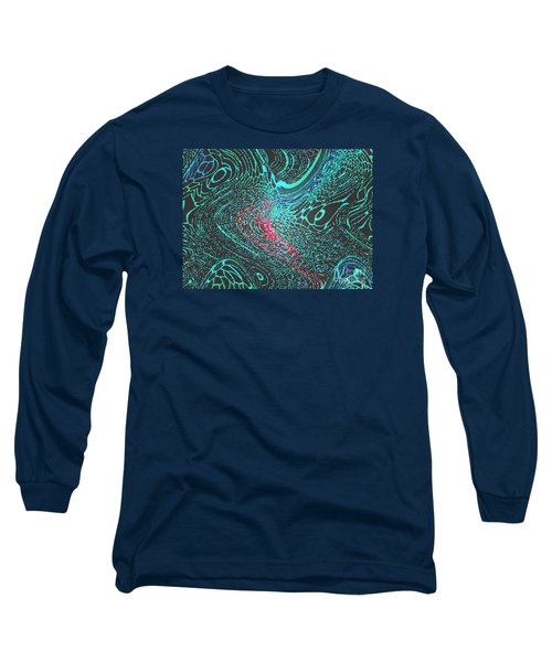 Long Sleeve T-Shirt featuring the photograph Pixellated by Mariarosa Rockefeller