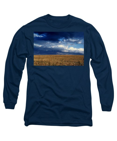 Long Sleeve T-Shirt featuring the photograph Plain Sky by Rodney Lee Williams