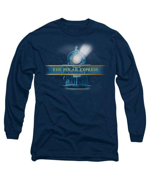 Polar Express - Train Logo Long Sleeve T-Shirt