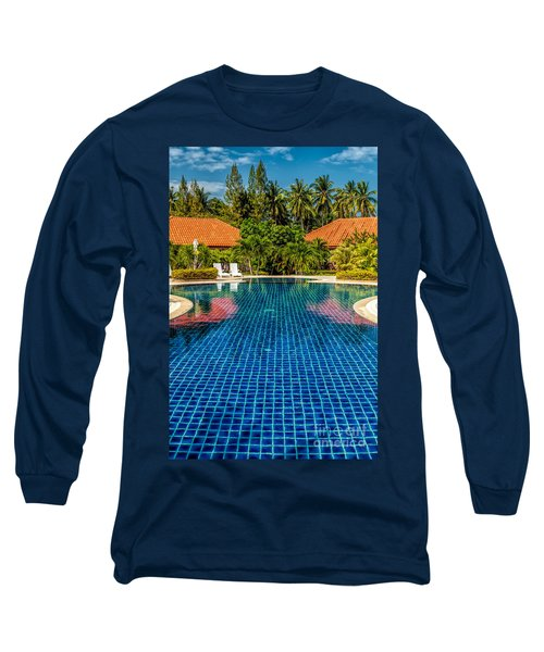 Pool Time Long Sleeve T-Shirt