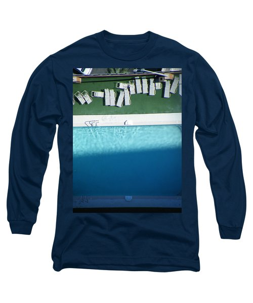 Poolside Upside Long Sleeve T-Shirt by Brian Boyle