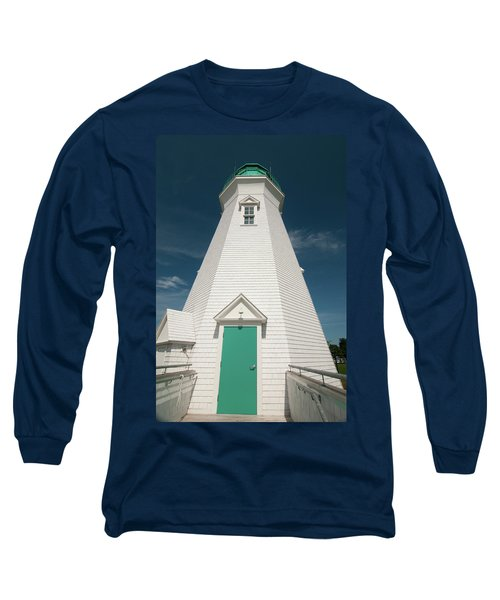 Port Dalhousie Lighthouse 9057 Long Sleeve T-Shirt