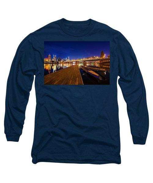 Portland Under The Stars Long Sleeve T-Shirt