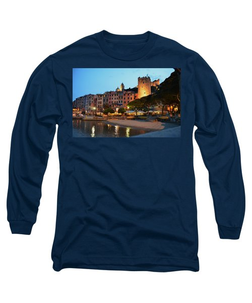 Portovenere At Night Long Sleeve T-Shirt