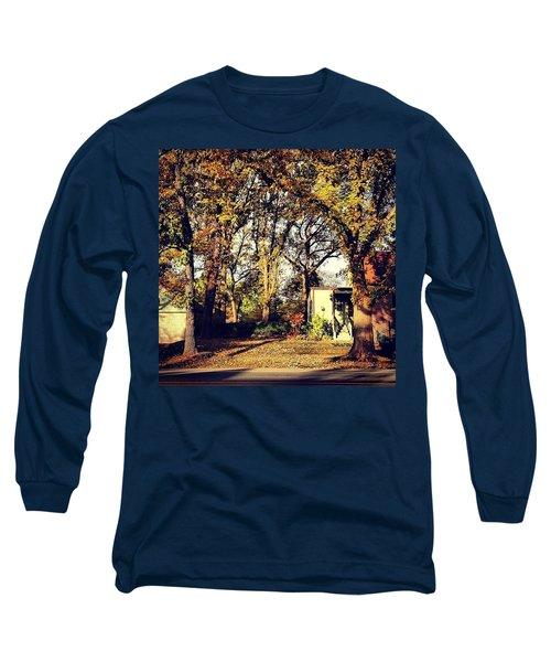 Portrait Of Autumn Long Sleeve T-Shirt