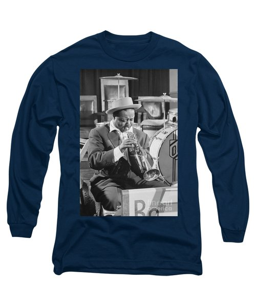 Portrait Of Charlie Shavers 1953 Long Sleeve T-Shirt