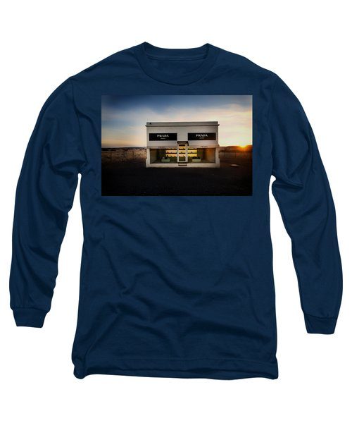 Prada Marfa Long Sleeve T-Shirt by Mountain Dreams