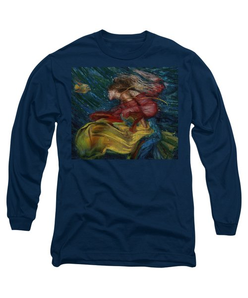 Queen Of The Angels Long Sleeve T-Shirt