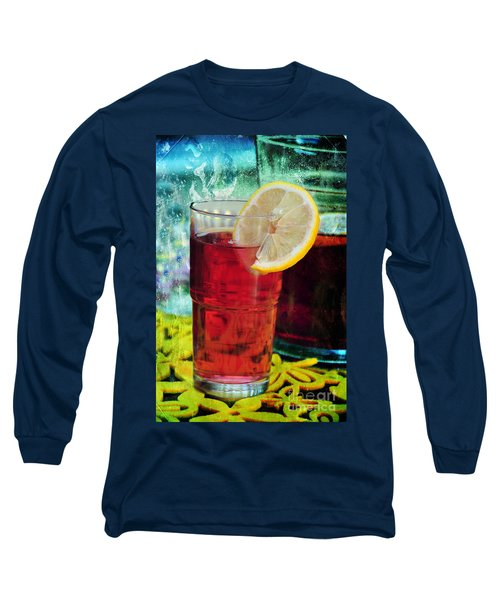Quench My Thirst Long Sleeve T-Shirt by Randi Grace Nilsberg