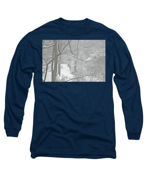 Querida In The Snow Storm Long Sleeve T-Shirt