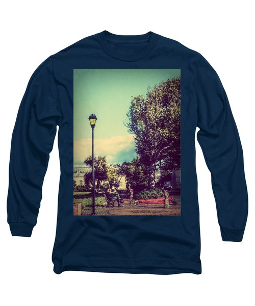 Quiet Reflections Long Sleeve T-Shirt by Melanie Lankford Photography