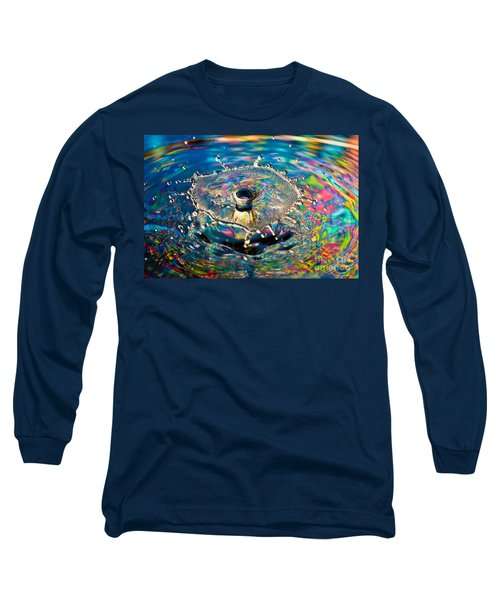 Rainbow Splash Long Sleeve T-Shirt