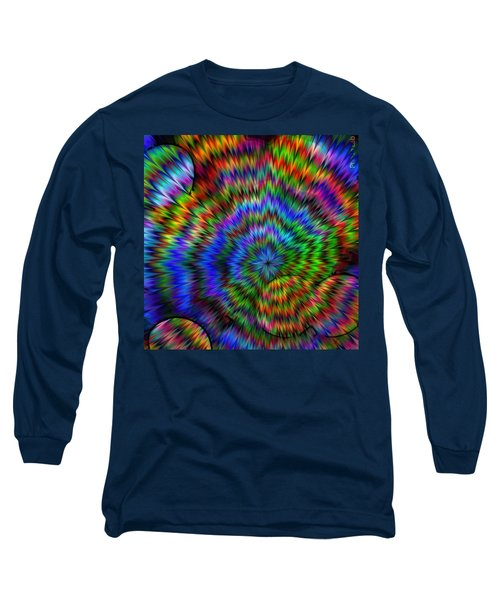 Rainbow Super Nova Long Sleeve T-Shirt