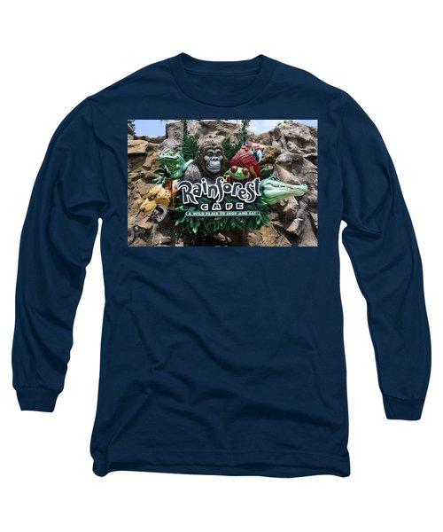 Rainforest Long Sleeve T-Shirt by David Nicholls