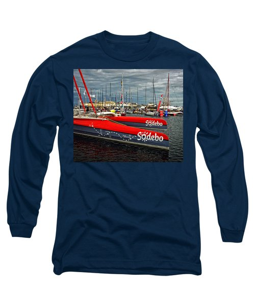 Long Sleeve T-Shirt featuring the photograph Ready To Race by Elf Evans