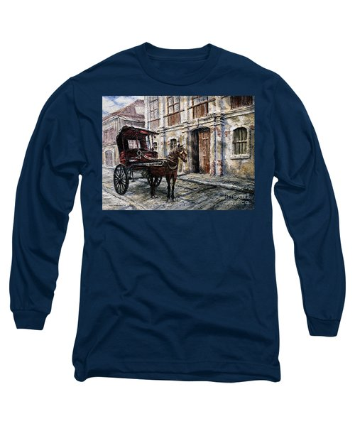 Red Carriage Long Sleeve T-Shirt