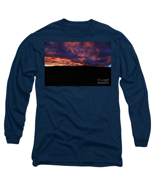 Long Sleeve T-Shirt featuring the photograph Red Dawn by Ann E Robson