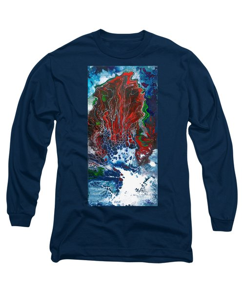 Red Fan Coral Long Sleeve T-Shirt