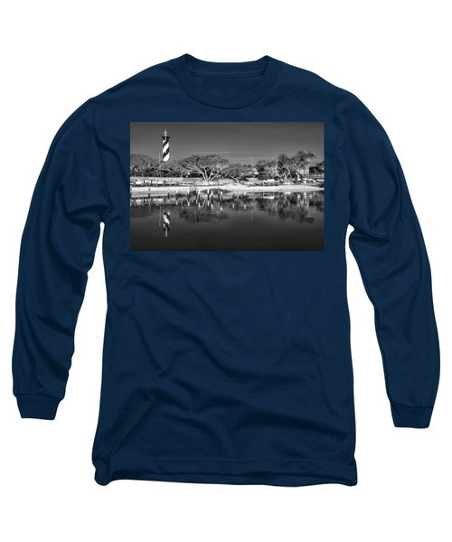 Reflecting Lighthouse  Long Sleeve T-Shirt