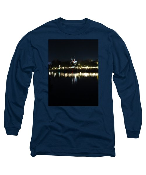 Reflection Of Lights Long Sleeve T-Shirt by Kathy Long