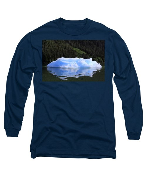 Reflections In The Sea Long Sleeve T-Shirt by Shoal Hollingsworth