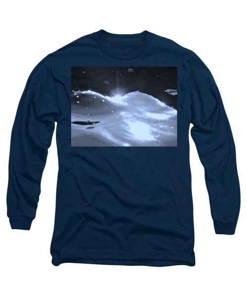 Moon Sunset Long Sleeve T-Shirt