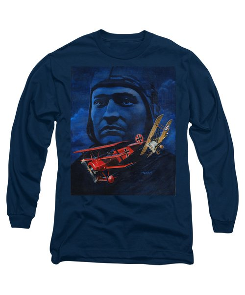 Richthofen And Brown Long Sleeve T-Shirt