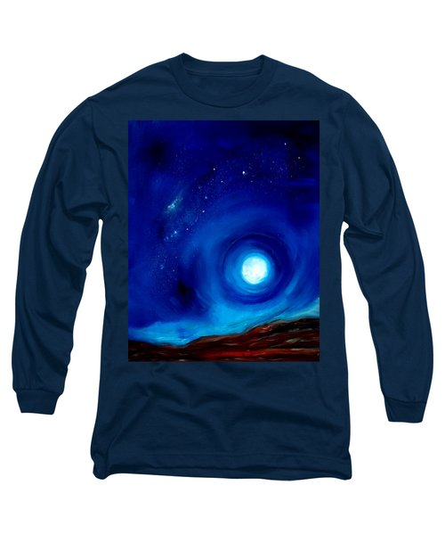 Rising Desert Moon Long Sleeve T-Shirt
