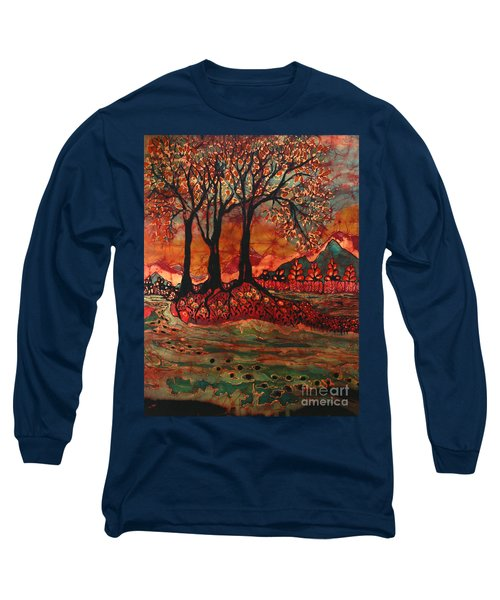 River Sunrise - Lothlorien Long Sleeve T-Shirt