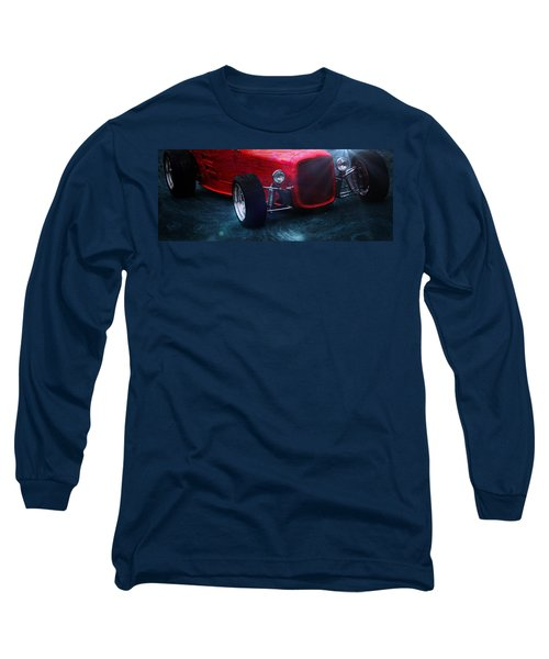 Vintage Long Sleeve T-Shirt featuring the photograph Road Rod  by Aaron Berg