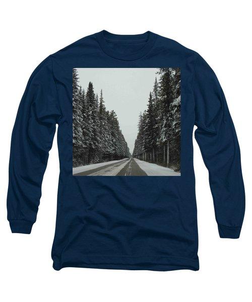 Road To Banff Long Sleeve T-Shirt