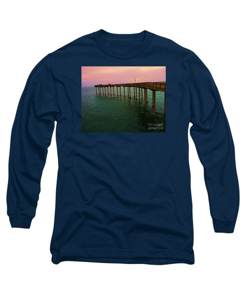 Long Sleeve T-Shirt featuring the photograph Road To Water by Jasna Gopic