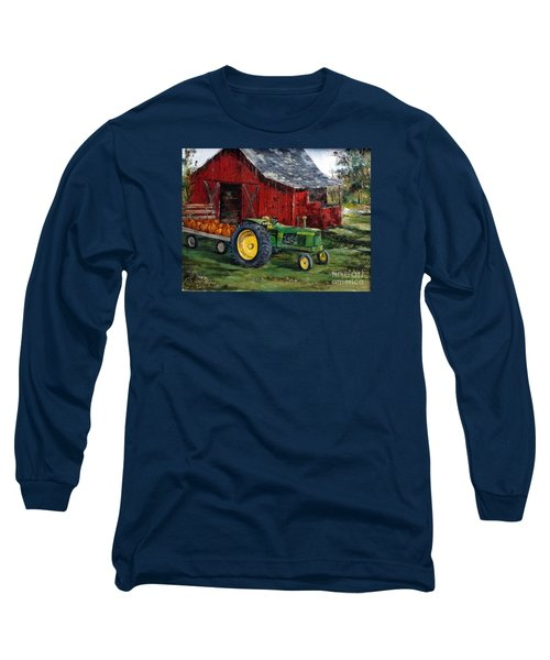 Rob Smith's Tractor Long Sleeve T-Shirt by Lee Piper