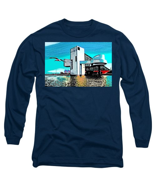 Rock And Roll Hall Of Fame - Cleveland Ohio - 4 Long Sleeve T-Shirt