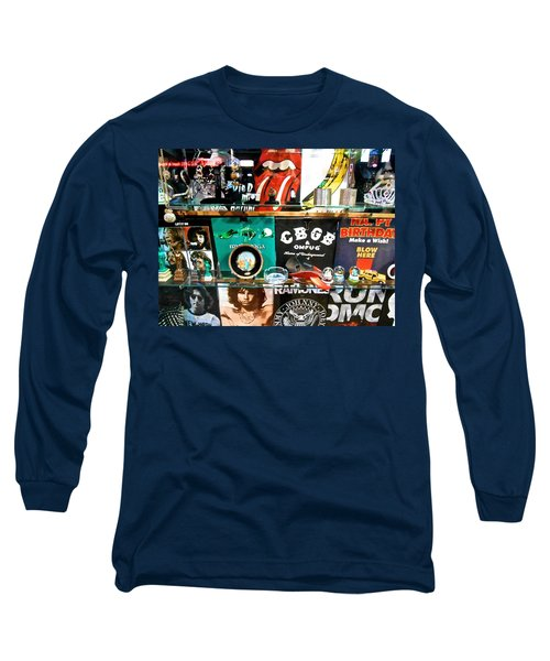 Rock And Roll On St. Marks   Nyc Long Sleeve T-Shirt