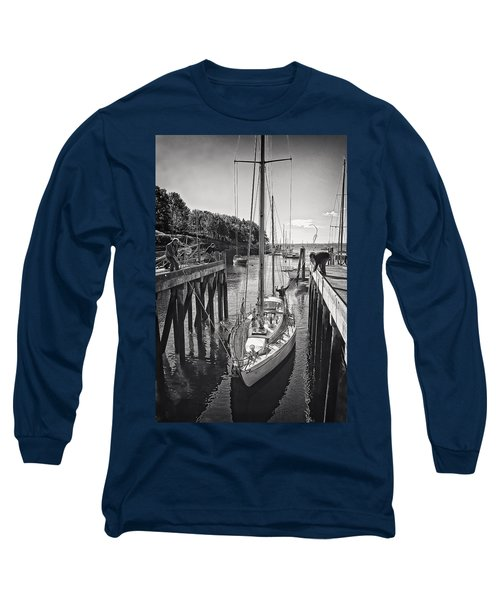 Rockport Harbor Long Sleeve T-Shirt by Priscilla Burgers